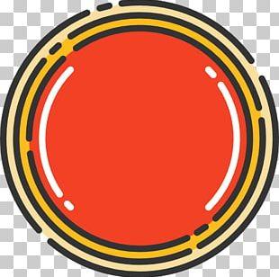 Circle Area Yellow PNG
