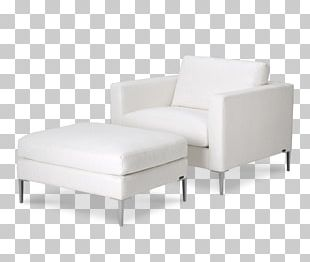 Couch AICO Aeria Chair And Ottoman | White By Michael Amini Amini Innovation PNG