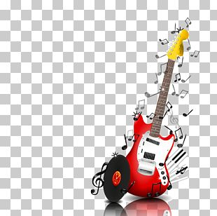 Bass Guitar Musical Note Musical Instrument Piano PNG