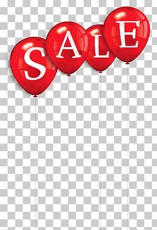 Sales Balloon PNG