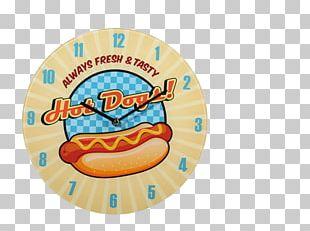 Hot Dog Wall Clocks Fast Food PNG