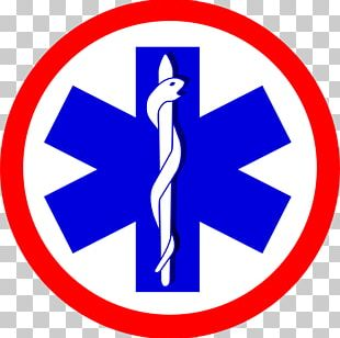 Logo Paramedic Star Of Life Emergency Medical Services PNG