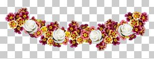 Crown Flower Wreath PNG