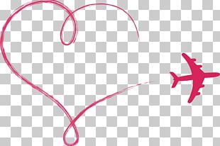 Airplane Heart Euclidean PNG