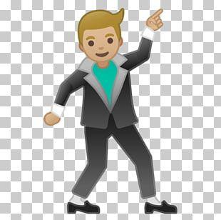 Dancing Emoji Emoticon Homo Sapiens Smiley PNG