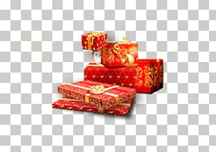 Gift Chinese New Year Box PNG