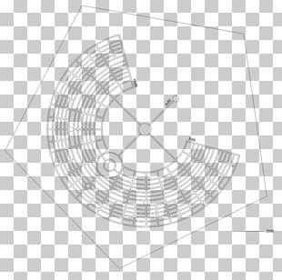 2017 Burning Man Circle Pattern PNG