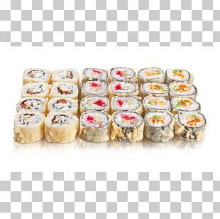 Makizushi Sushi California Roll Tempura Japanese Cuisine PNG