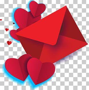 Valentine's Day Puppy Love Heart PNG