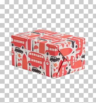 Art Paper Box Gift Wrapping PNG