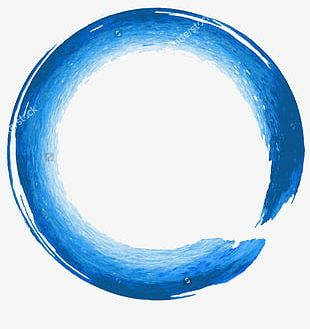 Figure Painted Circle PNG
