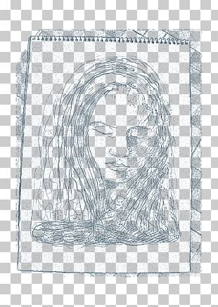 Paper Figure Drawing Line Art Sketch PNG