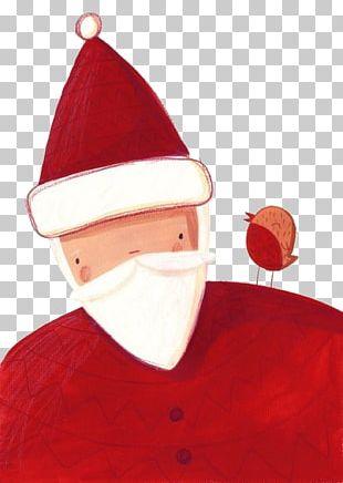 Santa Claus Père Noël Rudolph Christmas Illustration PNG