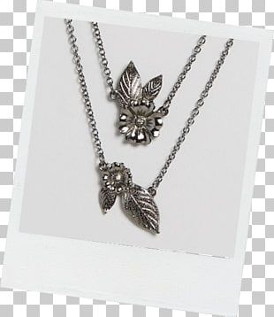 Charms & Pendants Body Jewellery Silver Necklace PNG