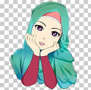 Hijab Cartoon Islam Drawing Anime PNG