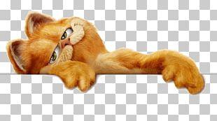 Garfield Header PNG
