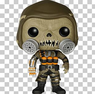 Batman: Arkham Knight Scarecrow Funko Action & Toy Figures PNG