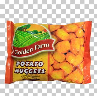 Vegetarian Cuisine Chicken Nugget Potato Junk Food PNG