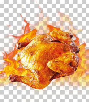Barbecue Chicken Roast Chicken Fried Chicken Hamburger PNG