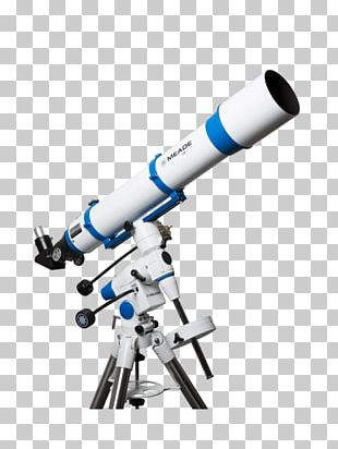 Refracting Telescope Meade Instruments Equatorial Mount Achromatic Lens PNG