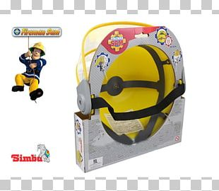 Bicycle Helmets Firefighter Fireman Sam Helmet Toys/Spielzeug American Football Protective Gear PNG