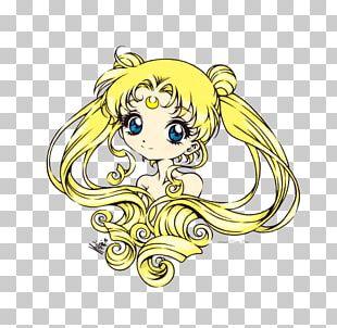 Chibiusa Sailor Moon Sailor Mercury Drawing PNG