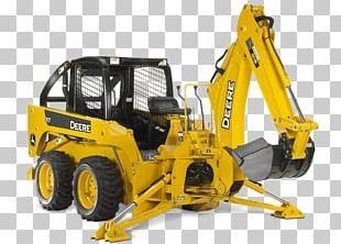 Bulldozer John Deere Caterpillar Inc. Backhoe Heavy Machinery PNG