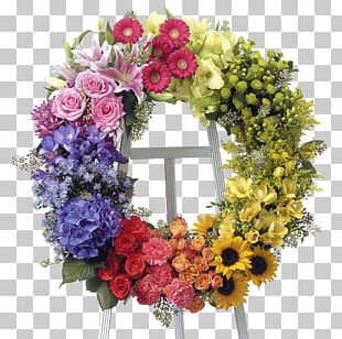 Floristry Flower Delivery Funeral Wreath PNG