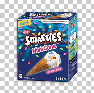 Ice Cream Cones Smarties Butterscotch PNG