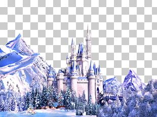 The Snow Queen Elsa Castle Drawing Fairy Tale PNG