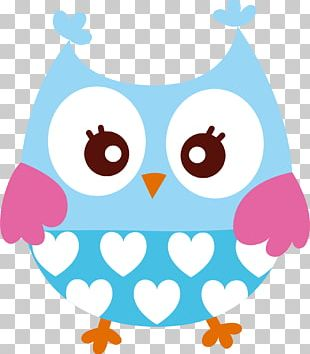 Adhesive Paper Little Owl Partition Wall Building PNG
