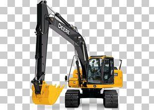 John Deere Excavator Machine Architectural Engineering Hydraulics PNG