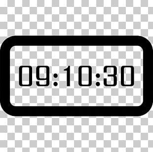 Digital Clock Timer Digital Data PNG