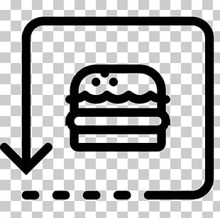 Hamburger Button French Fries Pizza Fast Food PNG