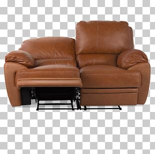 Loveseat Recliner Leather Club Chair Couch PNG