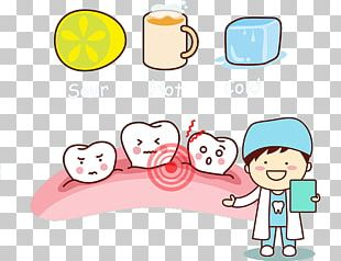 Tooth Dentistry Cartoon Illustration PNG