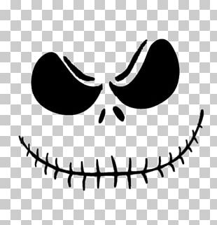 Jack Skellington Jack-o'-lantern Pumpkin Carving Pattern PNG