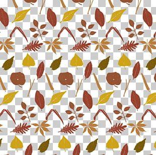 Leaf Autumn Pattern PNG