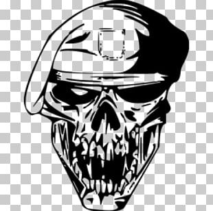 Beret Skull Stock Photography Drawing PNG