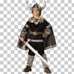 Halloween Costume Child Boy Viking PNG