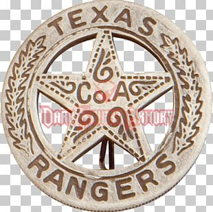 Texas Ranger Hall Of Fame And Museum Texas Ranger Division Texas Rangers American Frontier Badge PNG