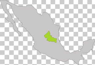 Mexico–United States Border Blank Map PNG