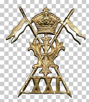 17th/21st Lancers Cap Badge PNG