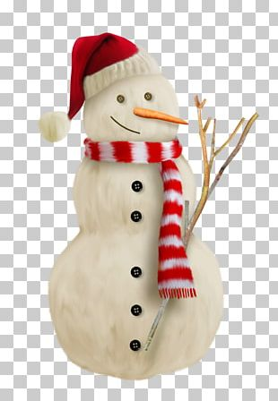 Snowman Christmas Card Hat PNG