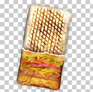 Taco Kebab Panini Fast Food French Fries PNG