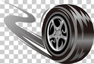 Car Tire Wheel Skid Mark PNG