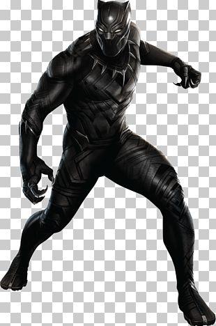 Black Panther Captain America Costume Cosplay Superhero PNG
