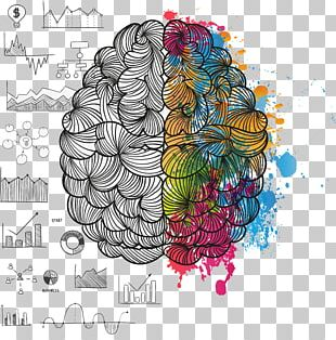 Lateralization Of Brain Function Painting Cerebral Hemisphere PNG