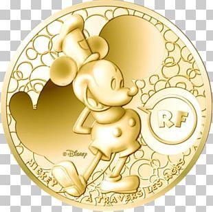 Coin Mickey Mouse Monnaie De Paris 200 Euro Note PNG