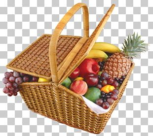 Basket Of Fruit PNG